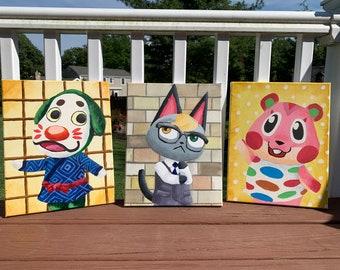 Custom Animal Crossing Villager Photo Painting
