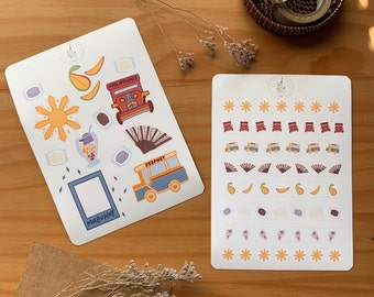 Philippines Dreams Stickers and Washi Sheet for Bullet Journals & Planners