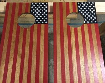 American Flag mini cornhole game Indoor/ outdoor