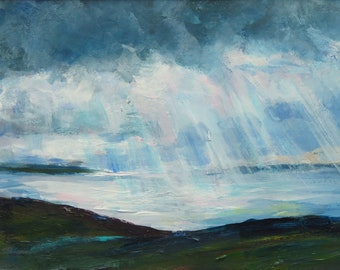 "Landscape Painting ""Orkney"""