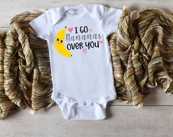 Going Home Outfit FVH003B FVB003B Banana New Baby Gift Set HAND EMBROIDERED Bodysuit  Onesie Hand Knit Beanie Hat for Newborn Infant