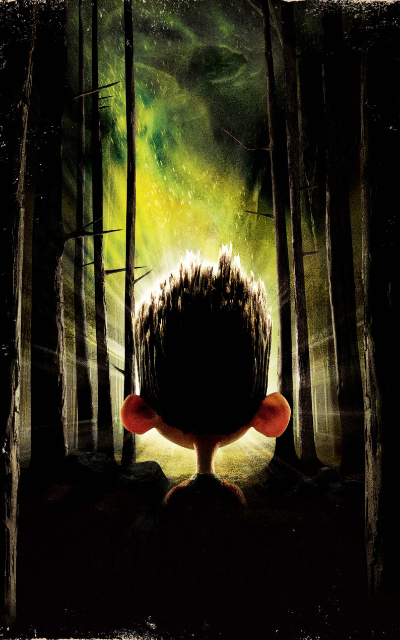 2012 verr3 movie gloss Poster 17x 24 inches ParaNorman