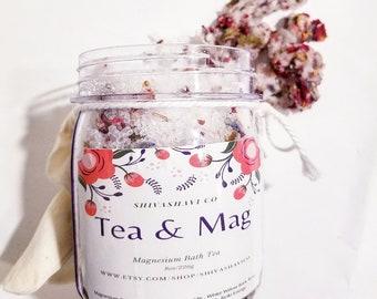 Relaxing Bath Tea-Rose/Lavender