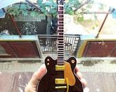 Guitar Miniature 1963 Gretsch Brown Geor ge Signature Display Instrument Music