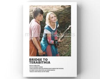 Bridge to Terabithia minimal A6 movie poster