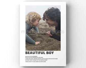 Beautiful Boy minimal A6 movie poster