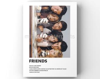 Friends minimal A6 poster