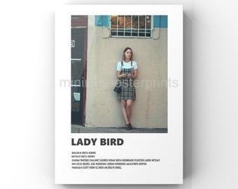 Lady Bird minimal A6 movie poster