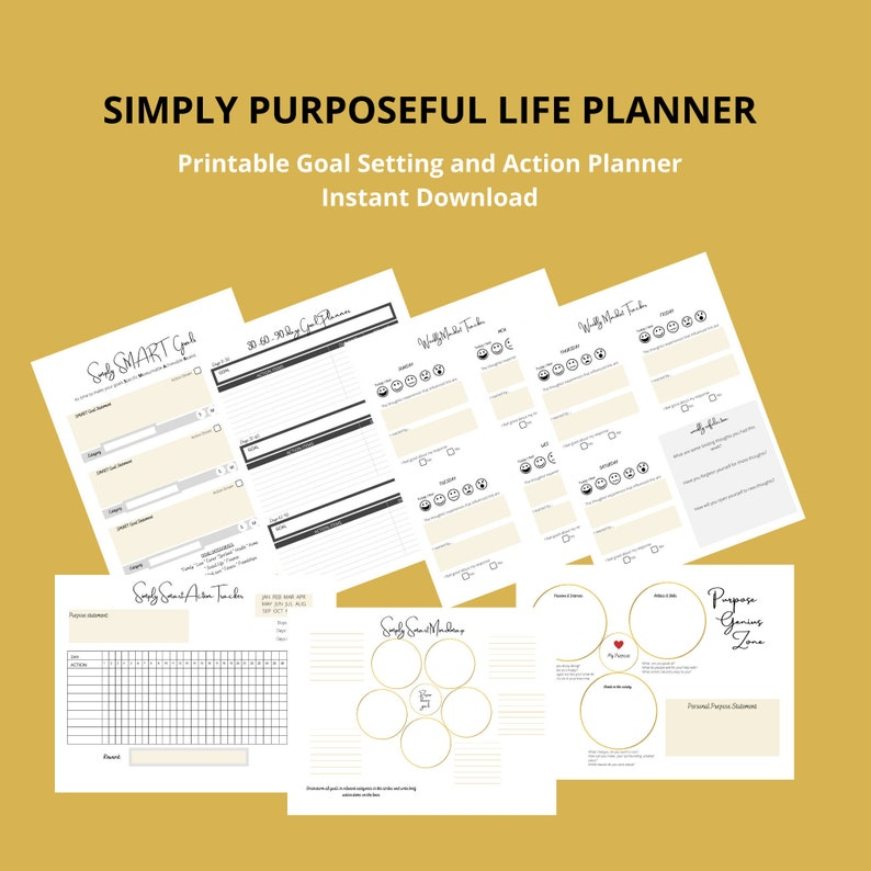 Simply Purposeful Life Planner image 0