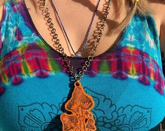 Mushy pendant necklace