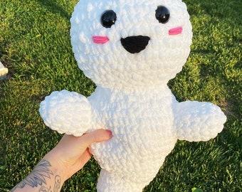 LARGE crochet ghost