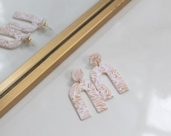 No. 2, Collection 6 // Handmade Polymer Clay Earrings