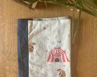 Protects health book / book protector - circus collection