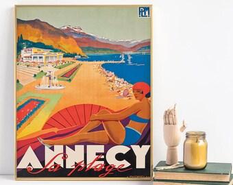 annecy, annecy travel Print, annecy Print, annecy print, annecy travel, travel Print, wall decor