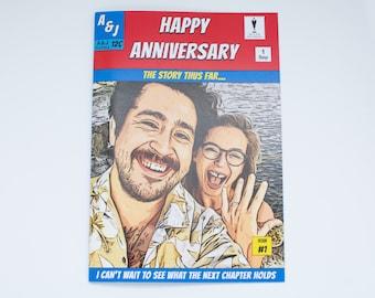 Personalized Comic Book Husband Gift | Husband Anniversary Gift | Husband Birthday Gift | Husband Christmas Gift