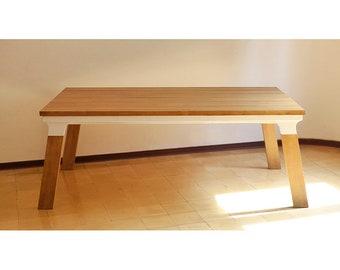 DINNER TABLE - DIY Plans - Easy to bluild - 6 x3,2 ft