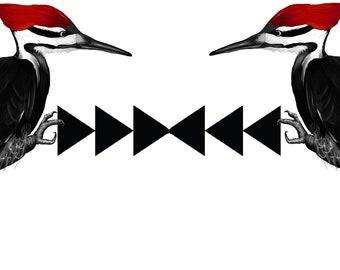 Woodpecker Mug Etsy