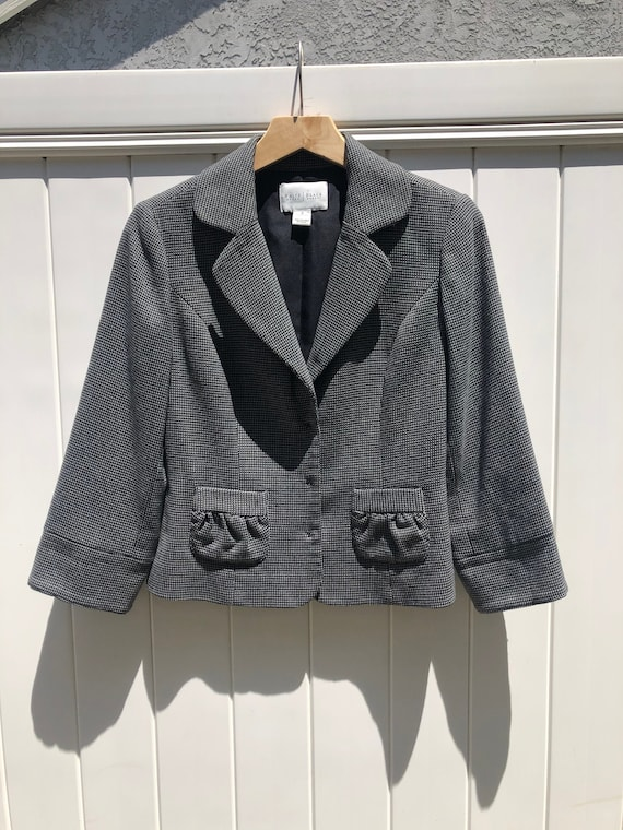 White House Black Market Blazer - Coat - Black and