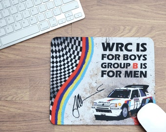 Mousepads Juha Kankkunen Quote | Mousepads | Birthday Gifts | WRC Gifts | Car Memorabilia | Car Enthusiasts | Motorsport Gifts | WRC |