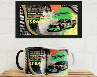 Mugs Days of Thunder Quote | Mugs | Birthday Gifts | Gifts | Cole Trickle | Tom Cruise | NASCAR | Man Cave | Mugs | Film Gifts |