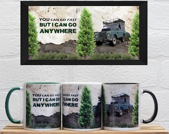 Land Rover Mugs | Mugs | Birthday Gifts | Gifts | Car Memorabilia | Car Enthusiasts | Land Rover | Off Road | Land Rover Gifts