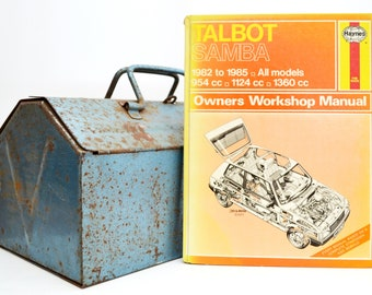 Haynes Talbot Owners Workshop Manual | Talbot Samba Owners Manual | Hardback Book | Birthday Gift | Car Memorabilia | Book for Dad |