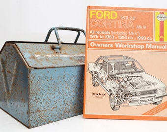 Haynes Ford Owners Workshop Manual | Ford Cortina Owners Manual | Hardback Book | Birthday Gift | Car Memorabilia | Book for Dad | Car Book