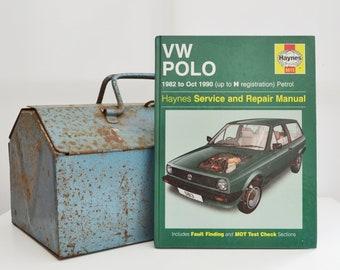 Haynes VW Owners Workshop Manual   VW Polo Owners Manual   Hardback Book   Birthday Gift   Car Memorabilia   Book for Dad   Car Book  