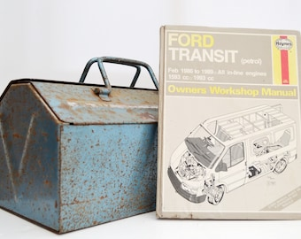 Haynes Ford Owners Workshop Manual | Ford Transit Owners Manual | Hardback Book | Birthday Gift | Car Memorabilia | Book for Dad | Car Book