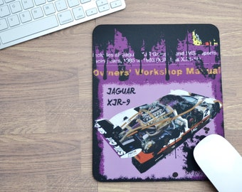 Haynes Mousepads Silk Cut Jaguar Haynes | Mousepads | Birthday Gifts | Jaguar Gifts | Car Memorabilia | Car Enthusiasts | Motorsport Gifts