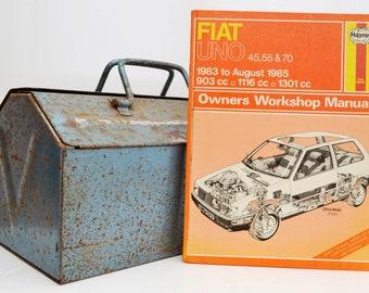 Haynes Fiat Owners Workshop Manual | Fiat Uno Owners Manual | Hardback Book | Birthday Gift | Car Memorabilia | Book for Dad | Car Book |