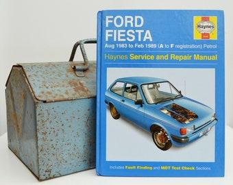 Haynes Ford Owners Workshop Manual Ford Fiesta Owners Manual   Hardback Book   Birthday Gift   Car Memorabilia   Book for Dad   Car Book  