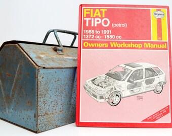 Haynes Fiat Owners Workshop Manual   Fiat Tipo Owners Manual   Hardback Book   Birthday Gift   Car Memorabilia   Book for Dad   Car Book  