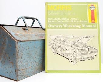 Haynes Morris Owners Workshop Manual | Morris Marina Owners Manual | Hardback Book | Birthday Gift | Car Memorabilia | Book for Dad |