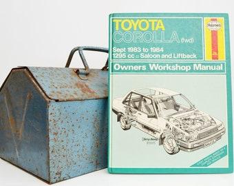 Haynes Toyota Owners Workshop Manual | Toyota Corolla Owners Manual | Hardback Book | Birthday Gift | Car Memorabilia | Book for Dad |
