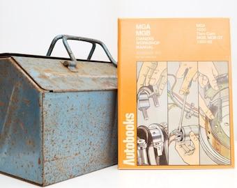 Haynes MG Owners Workshop Manual   MGA & MGB Owners Manual   Hardback Book   Birthday Gift   Car Memorabilia   Book for Dad   Car Book  