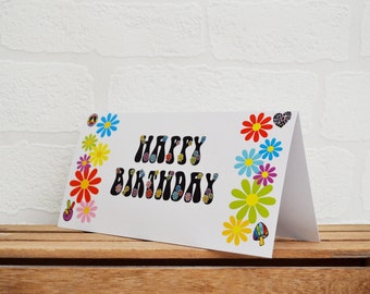 Greeting Cards | Happy Birthday | Birthday Cards | Groovy Cards | Cards | Special Occasions | Flower Cards | Blank Cards