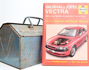 Haynes Vauxhall Owners Workshop Manual   Vauxhall Vectra Owners Manual   Hardback Book   Birthday Gift   Car Memorabilia   Book for Dad  