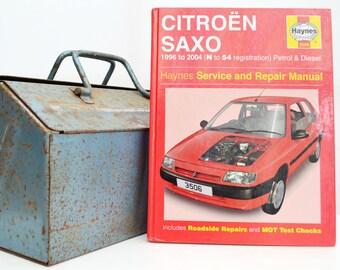 Haynes Citroen Owners Workshop Manual | Citroen Saxo Owners Manual | Hardback Book | Birthday Gift | Car Memorabilia | Book for Dad | Gifts