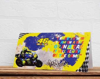 Greeting Cards | Valentino Rossi | Birthday Cards | Bike Memorabilia | Driver Quotes | Cards | Special Occasions | Motorsport Cards |