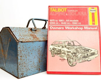 Haynes Talbot Owners Workshop Manual | Talbot Alpine Owners Manual | Hardback Book | Birthday Gift | Car Memorabilia | Book for Dad |