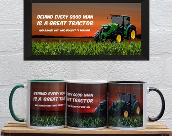 Tractor Mugs | Mugs | Birthday Gifts | Gifts | Car Memorabilia | Car Enthusiasts | Tractor | Farming | Tractor Gifts | Farming Gifts