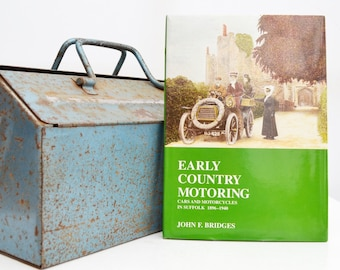 Early Country Motoring | Motoring Book | Vintage Book | Birthday Gift | Car Memorabilia | Book for Dad | Gifts | Car Books | Car Gifts