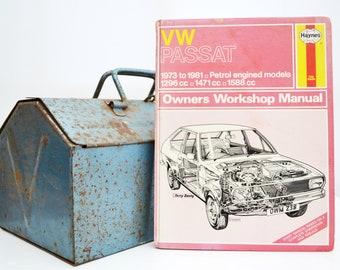 Haynes VW Owners Workshop Manual | VW Passat Owners Manual | Hardback Book | Birthday Gift | Car Memorabilia | Book for Dad | Car Book |
