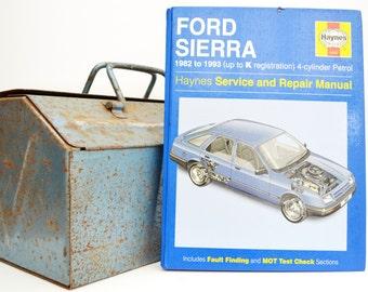 Haynes Ford Owners Workshop Manual   Ford Sierra Owners Manual   Hardback Book   Birthday Gift   Car Memorabilia   Book for Dad   Car Book  
