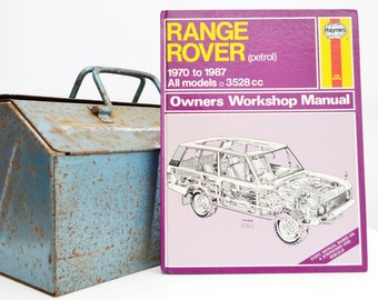 Haynes Range Rover Owners Workshop Manual | Range Rover Owners Manual | Hardback Book | Birthday Gift | Car Memorabilia | Car Book |