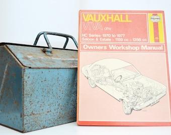 Haynes Vauxhall Owners Workshop Manual   Vauxhall Viva Owners Manual   Hardback Book   Birthday Gift   Car Memorabilia   Book for Dad  