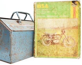 Haynes BSA Owners Workshop Manual | BSA Owners Manual | Softback Book | Birthday Gift | Motorcycle Memorabilia | Motorcycle Book |