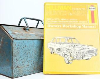 Haynes Hillman Owners Workshop Manual   Hillman Minx Owners Manual   Hardback Book   Birthday Gift   Car Memorabilia   Book for Dad   Gifts