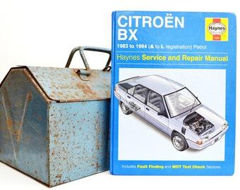 Haynes Citroen Owners Workshop Manual | Citroen BX Owners Manual | Hardback Book | Birthday Gift | Car Memorabilia | Book for Dad | Car Gift